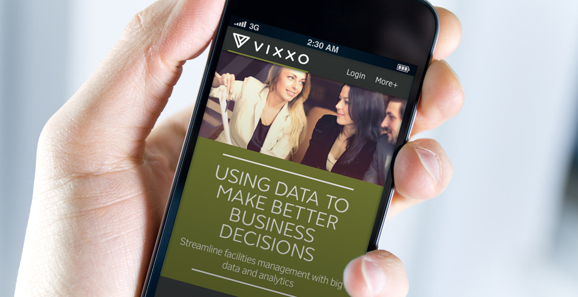Vixxo Mobile User Experience